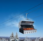 Inauguration of the new chairlift Sommet Express